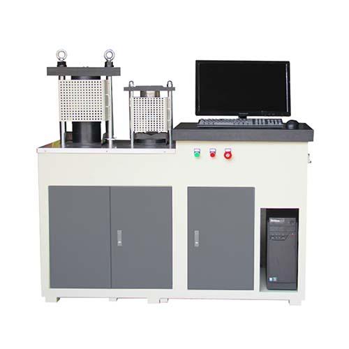 Automatic Compression-Flexural Testing Machine